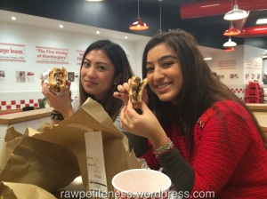 My Turkish Queen and our beloved burgers!