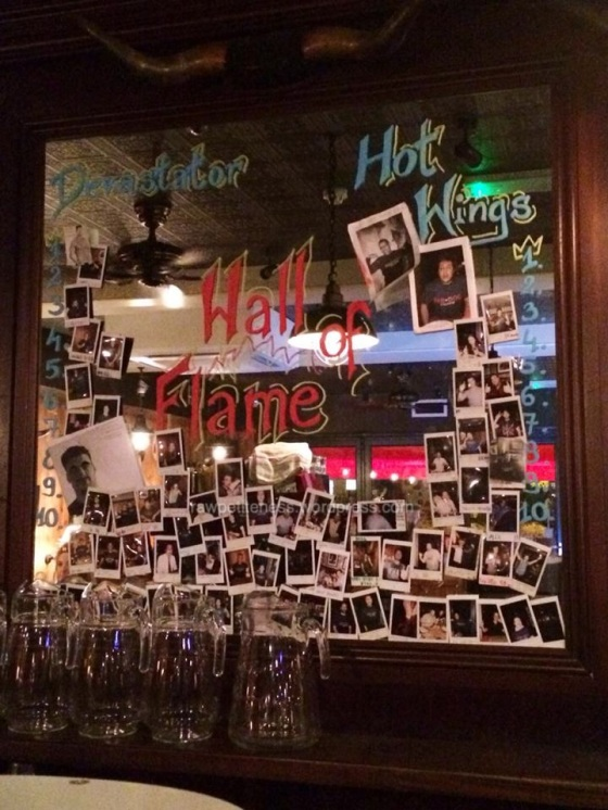 It's the Hall of Fame! sorry, Flame!