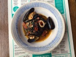 Squid and Mussel Spaghetti