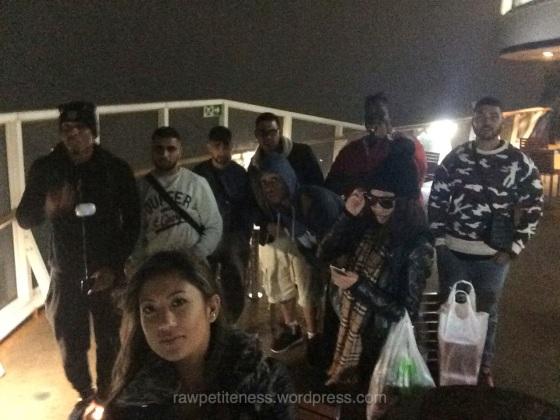 4am ferry to Calais